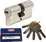 ABUS EC660 Profil-Doppelzylinder Länge (a/b) 40/50mm (c=90mm) mit 6...