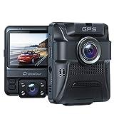 Dashcam Auto Vorne Hinten, Integrierte GPS, Full HD 1080P Dual...