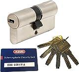 ABUS EC660 Profil-Doppelzylinder Länge (a/b) 50/60mm (c=110mm) mit 6...