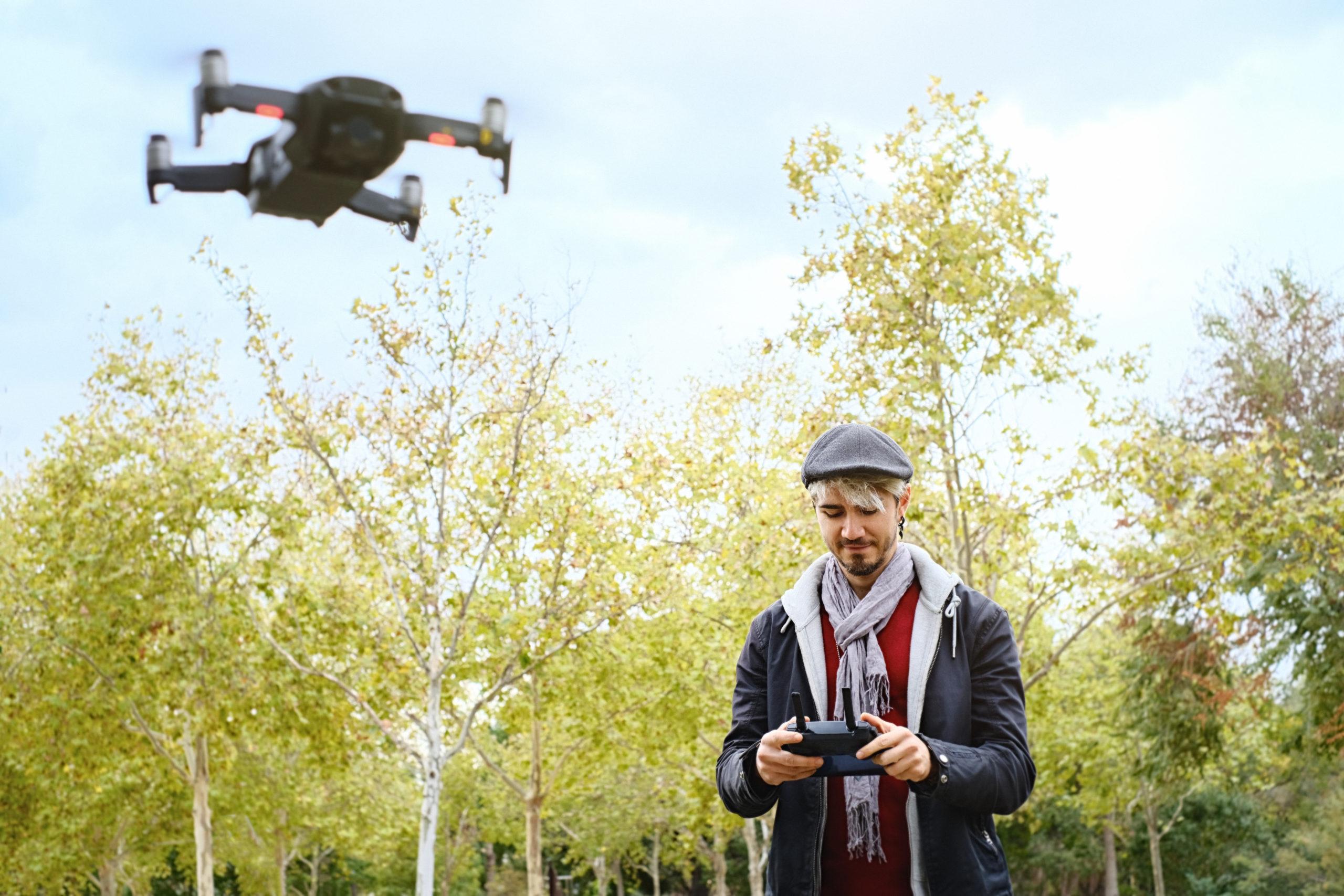 Überwachung dank Drohne mit Minikamera