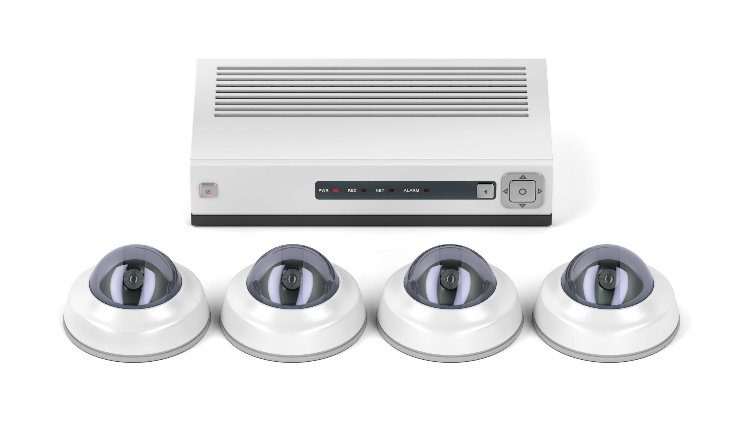 Überwachungskamera-Sets