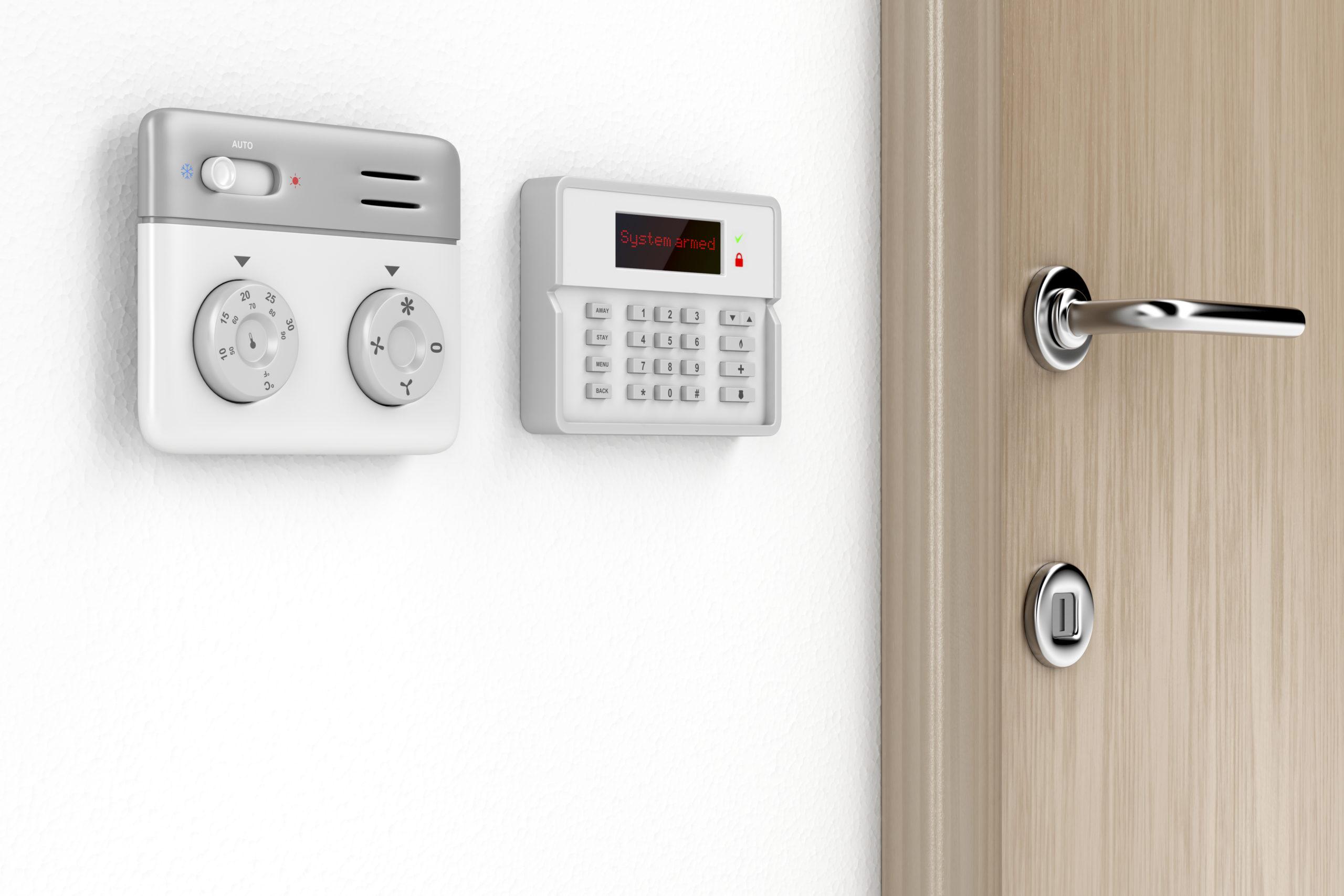Sicherheitstechnik im Haus