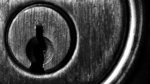 Schließzylinder von vorne