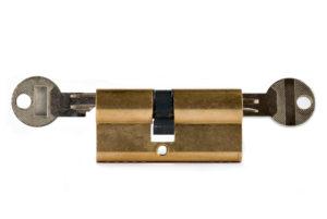 Profilzylinder mit 2 Schlüsseln